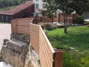 Cloture Bois Design : cl ture de jardin il y en a pour tous les go ts ~ Melissatoandfro.com Idées de Décoration