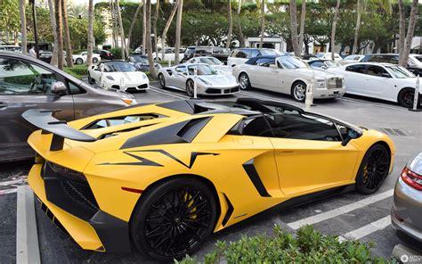 lamborghini aventador sv roadster yellow lamborghini aventador lp750 4 superveloce roadster 3 january 2018 autogespot