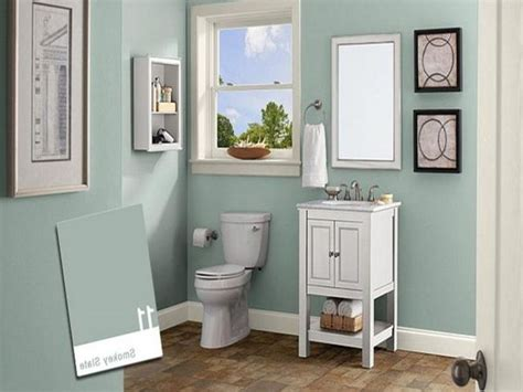 Best + Small Bathroom Paint Ideas On Pinterest