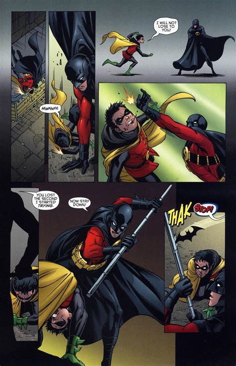 damian tim robin drake wayne dick jason todd hood nightwing batman vs grayson robins moron comic comics comicnewbies bat think