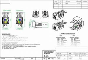 Wiring Diagram Cat 6 T56b Rj45 Keystone Jack