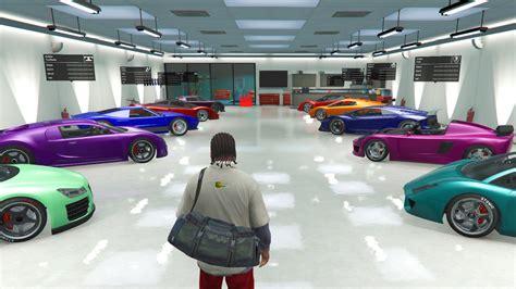 Gta 5 Pc Mods Single Player Garage Loaded Full Of Cars