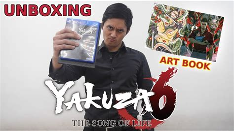 yakuza  launch edition unboxing asian version yakuza
