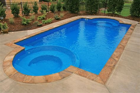 pic of pool prestige pools carries installs fiber glass pools in raleigh nc