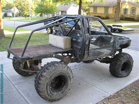 homemade 4x4 truck roll cage toyota pickup dodge off road vehicles