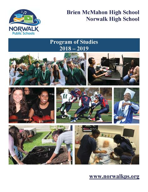 high school program studies norwalk public schools