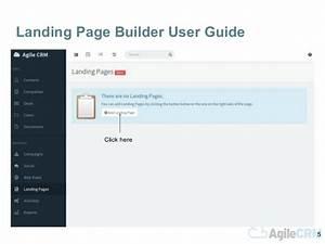 Agile Crm Landing Page Builder