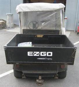 Ez Go Workhorse 1000 Lx Elbil    Golfvogn For Sale  Retrade