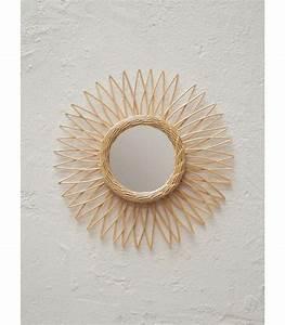 Petit Miroir Rotin : soleil petit miroir rotin clair ~ Melissatoandfro.com Idées de Décoration