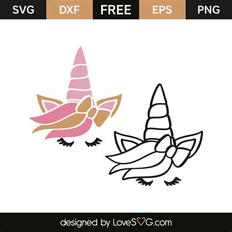 Another super cute unicorn svg free cut file from love svg. Unicorn faces | Lovesvg.com