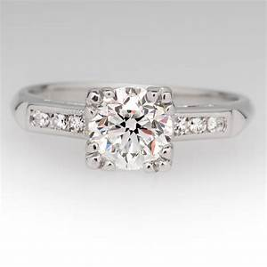 platinum antique engagement rings wedding promise With vintage platinum wedding ring
