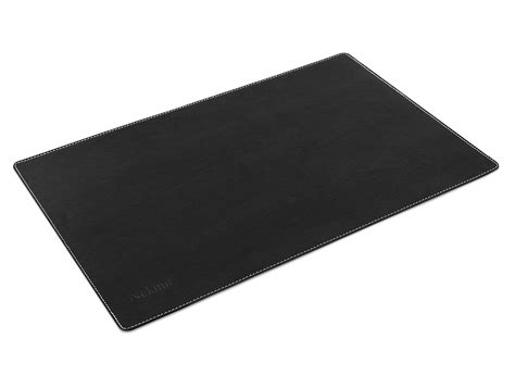 leather desk mat australia nekmit leather desk blotter 17 quot x12 quot black 17 quot x12 quot no