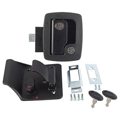 rv door locks replacement ap products 013 520 black replacement standard rv entry