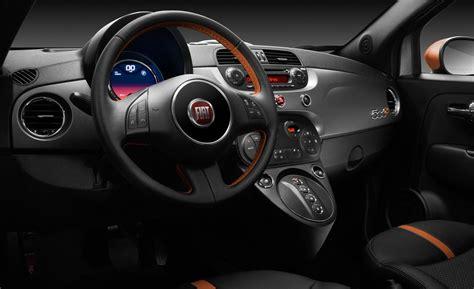 Fiat Interior by Fiat 500e Price Modifications Pictures Moibibiki