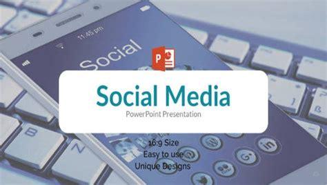 social media powerpoint templates    format