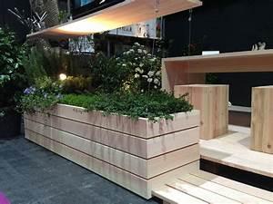 Blumenkästen Selber Bauen : pur natur douglasie terrassen auf der gartenzeit 2013 pur natur ~ Sanjose-hotels-ca.com Haus und Dekorationen