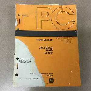 John Deere Jd 644d Parts Manual Catalog Book Wheel Loader