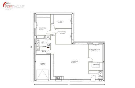 plan maison 100m2 2 etages 7 nos offres maison terrain en gironde freedhome habitat estein