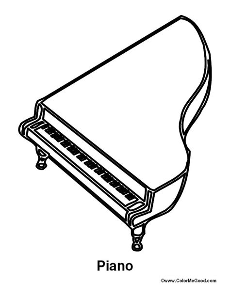 piano coloring pages coloring activity pages piano coloring page