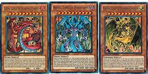 Uria Lord + Hamon + Raviel LC02 Egyptian God Cards ...
