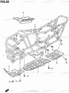 Suzuki Atv 2000 Oem Parts Diagram For Frame
