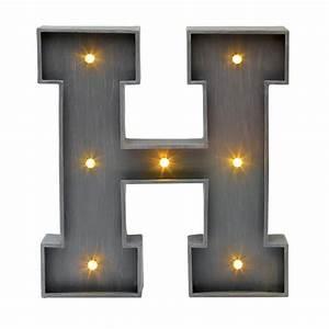 Lettre Lumineuse Deco : deco lumineuse lettre ~ Teatrodelosmanantiales.com Idées de Décoration
