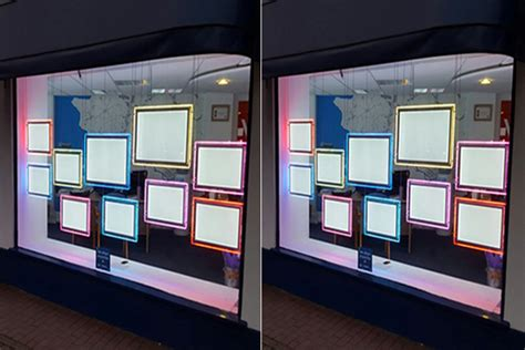 lighted window displays real estate acrylic light flyer holders storefront led window display buy storefront window