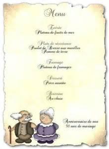 exemple de menu de mariage menu de fête gratuit à imprimer séniors a imprimer