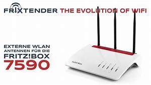 Wlan Verstärker Reichweite : fritz box 7590 mit externen wlan antennen nachr sten ~ Watch28wear.com Haus und Dekorationen