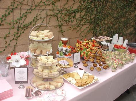 Buffet Table Decorating Ideas  Dream House Experience
