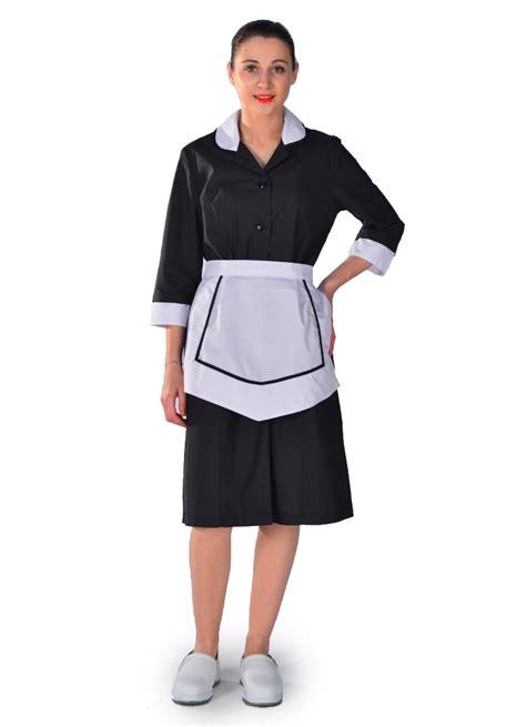 blouse femme de chambre carlton hotellerie service