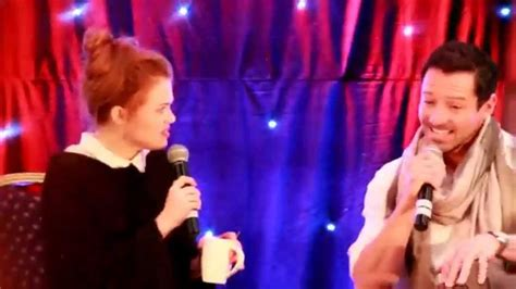 ian bohen and holland roden holland roden and ian bohen at wolfsbane 2 youtube