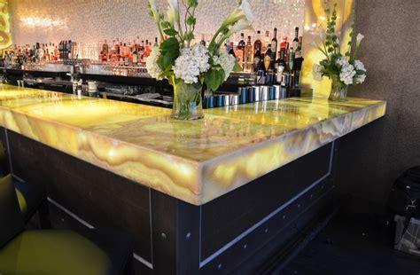 Belle & James Backlit Honey Onyx Bar   Light Tape®