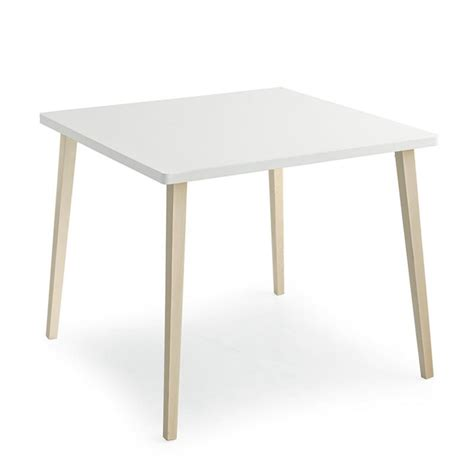 petit table de cuisine table de cuisine scandinave carrée blanc sur cdc design