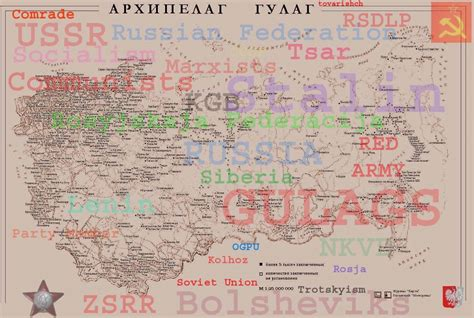 Russian Gulag Locations
