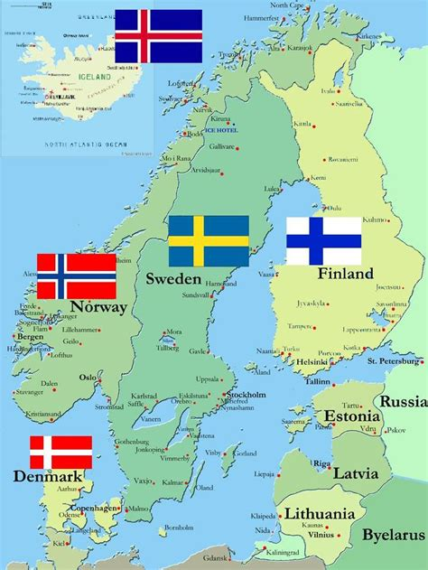 Which For The Nordic Countries Duffypugs Scandinavia