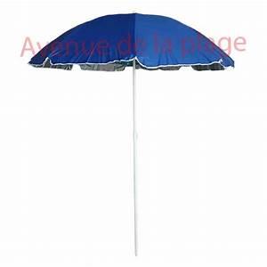 Parasol De Plage Pas Cher : parasol de plage anti uv 50 bleu doubl 200 cm parasol ~ Dailycaller-alerts.com Idées de Décoration