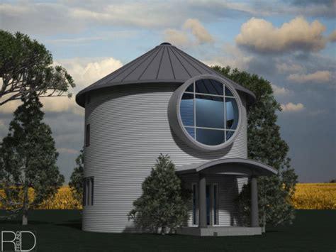 grain bin cabin alternative home plans home design