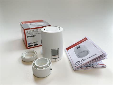 danfoss eco bluetooth heizkoerperthermostat im test