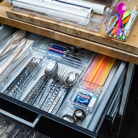 organiseur tiroir cuisine organiseur de tiroir de cuisine rectangulaire cuisine