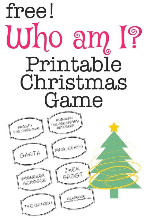 printable christmas game    printable christmas games christmas games  christmas