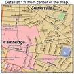 Cambridge Massachusetts Street Map 2511000