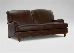 leather sofas ethan allen