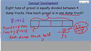 Engageny Eureka 5th Grade Math Module 4 Lesson 4 Tape Diagrams To Model Fractions As Division