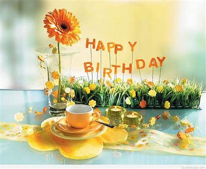 Birthday Happy Awesome Wishes Flowers Funny Wallpapers