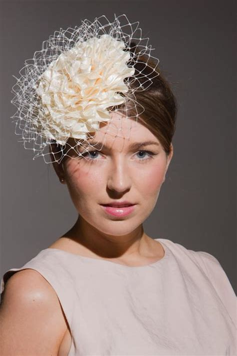 Bridal fascinators : Beth Morgan Millinery