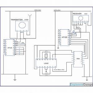 Wireless Motor Control Through Rf