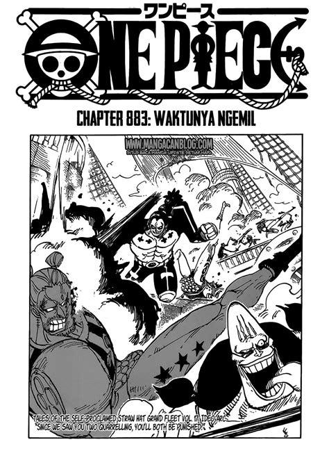 Manga Spoiler One Piece Chapter 883 | Vebry Exa Blog