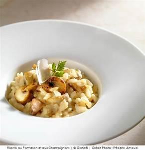 Assiette à Risotto : risotto au parmesan et aux champignons a vos assiettes recettes de cuisine illustr es ~ Teatrodelosmanantiales.com Idées de Décoration