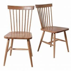 Chaise Bois Vintage : lot de 2 chaises scandinaves vintage barbieux c achat vente chaise bois bouleau cdiscount ~ Teatrodelosmanantiales.com Idées de Décoration